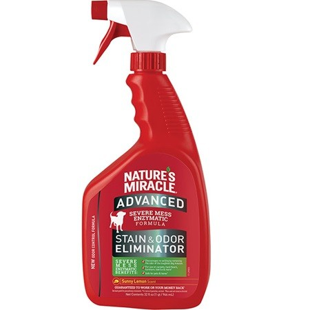 NATURE'S MIRACLE 32OZ STAIN/ODOR REMOVER ADVANCED FORMULA