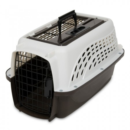 PETMATE TOP LOAD KENNEL – 2 DOOR PEARL WHITE - SMALL