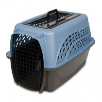 PETMATE TOP LOAD KENNEL – PEARL ASH BLUE - MEDIUM
