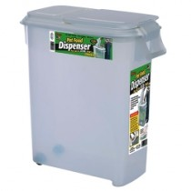 BUDDEEZ - 50 QUART ROLL AWAY PET FOOD DISPENSER W/SCOOP