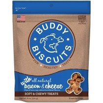 CLOUD STAR 6OZ SOFT & CHEWY BACON & CHEESE TREATS