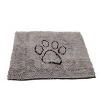 MEDIUM DIRTY DOG DOORMAT GREY 31X20