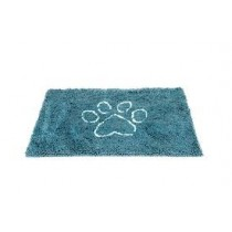 LARGE DIRTY DOG DOORMAT PACIFIC BLUE 35X26
