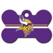 PET TAG – LARGE BONE – NFL – VIKINGS