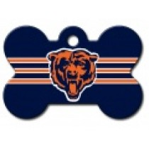 PET TAG – LARGE BONE – NFL – BEARS