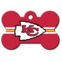 PET TAG – LARGE BONE – NFL – CHIEFS