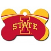 PET TAG – LARGE BONE – NCAA – IOWA STATE UNIV. CYCLONES