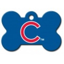 PET TAG – LARGE BONE – MLB – CHICAGO CUBS