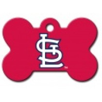 PET TAG – LARGE BONE – MLB – ST. LOUIS CARDS