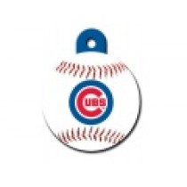 PET TAG – LARGE CIRCLE – MLB – CHICAGO CUBS