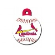 PET TAG – LARGE CIRCLE – MLB – ST. LOUIS CARDS