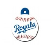 PET TAG – LARGE CIRCLE – MLB – KANSAS CITY ROYALS