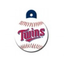 PET TAG – LARGE CIRCLE – MLB – MINNESOTA TWINS