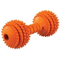 JW® CHOMPION MIDDLE WEIGHT RUBBER DOG TOY (COLORS VARY)