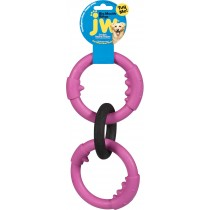 JW® RUBBER BIG RINGS (COLORS VARY)