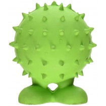 JW® SPIKY CUZ SMALL RUBBER DOG TOY (COLORS VARY)