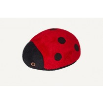 FLUFF & TUFF LADY BUG – 4 ½""