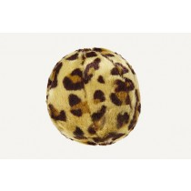 FLUFF & TUFF SMALL LEOPARD BALL