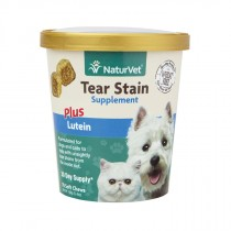 NATURVET TEAR STAIN & LUTEIN SOFT CHEW CUP 70 CT