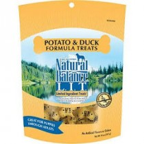 NATURAL BALANCE L.I.D - DUCK & POTATO 14 OZ TREATS