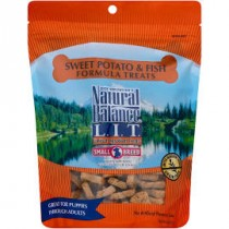NATURAL BALANCE L.I.D. - SM BREED - FISH & SW POTATO 8 OZ TREATS
