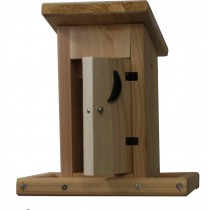 OUTHOUSE BIRD FEEDER