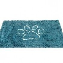 MEDIUM DIRTY DOG DOORMAT PACIFIC BLUE 31X20
