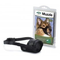 PETSAFE - SOFT BLACK MUZZLE – LARGE