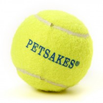 PETSAKES TENNIS BALL DOG TOY