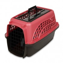 PETMATE TOP LOAD KENNEL – 2 DOOR PEARL ROSE - SMALL