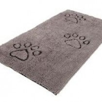 DIRTY DOG FLOOR RUNNER GREY 60X30