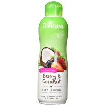TROPICLEAN BERRY CLEAN SHAMPOO 20 OZ