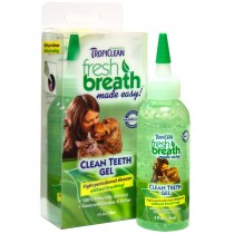TROPICLEAN CLEAN TEETH GEL 4 OZ