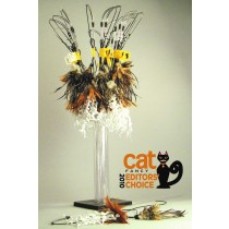 VEE CAT TOYS - CRUNCHY FEATHER CAT TOY