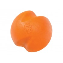 "WEST PAW JIVE BALL DOG TOY - LARGE 3.5"" - TANGERINE"