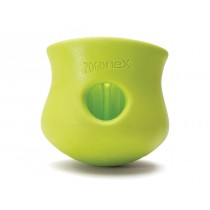 "WEST PAW TOPPL DOG TOY - LARGE 4"" - GRANNY SMITH COLOR"
