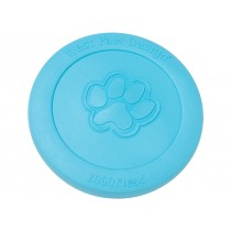 "WEST PAW ZISC DOG TOY - LARGE 8.5"" - AQUA BLUE COLOR"