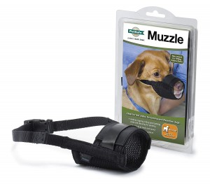 PETSAFE - SOFT BLACK MUZZLE - MEDIUM