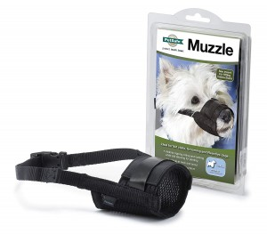 PETSAFE – SOFT BLACK MUZZLE – SMALL