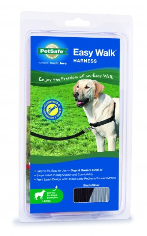 EASY WALK HARNESS - LARGE BLACK