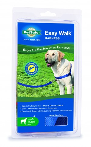 EASY WALK HARNESS - LARGE ROYAL BLUE
