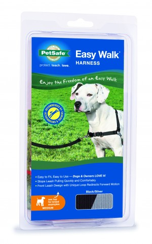 EASY WALK HARNESS - MEDIUM BLACK