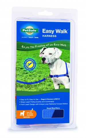 EASY WALK HARNESS - MEDIUM ROYAL BLUE