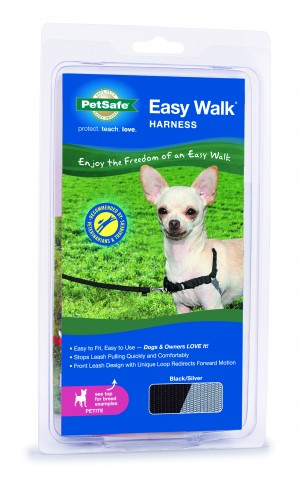 EASY WALK HARNESS - PETITE BLACK