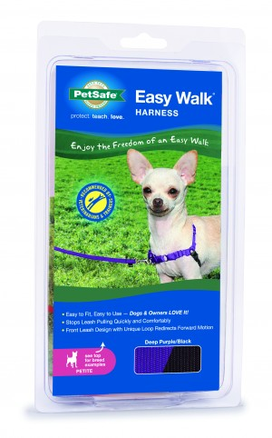 EASY WALK HARNESS - PETITE DEEP PURPLE