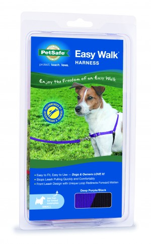 EASY WALK HARNESS - SMALL DEEP PURPLE