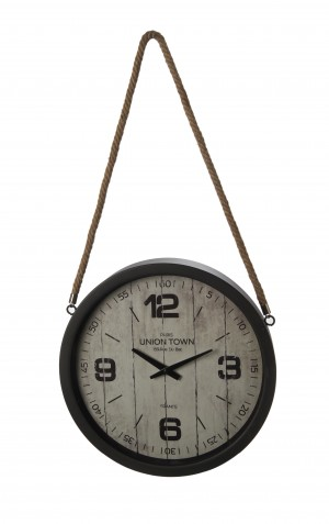 UNION TOWN POCKET CLOCK W/ ROPE
